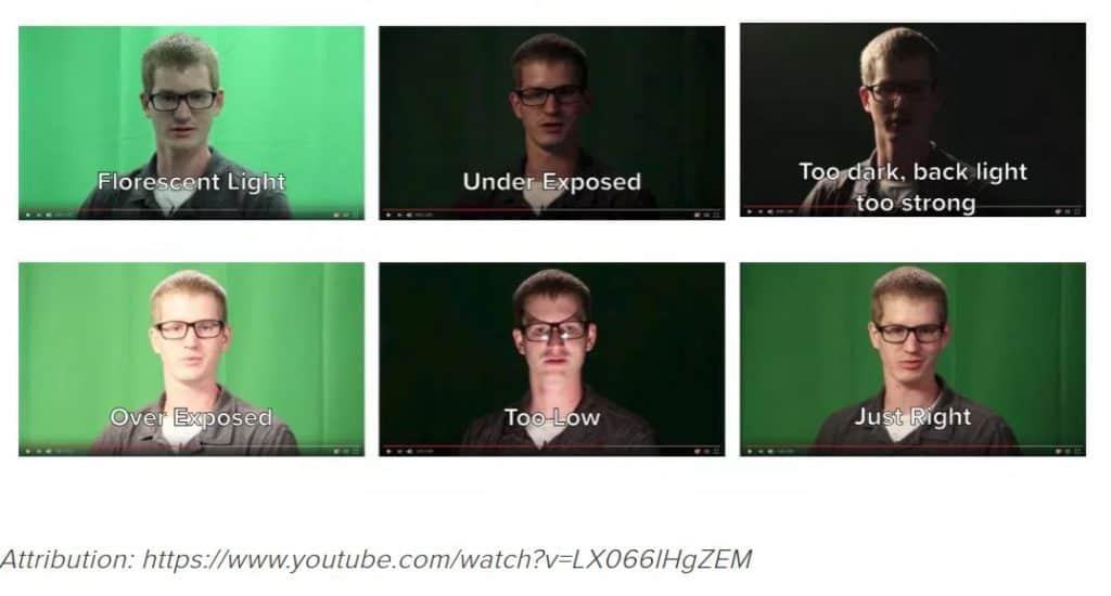 video production lighting
