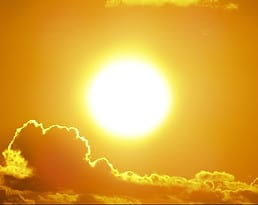 sun as key light